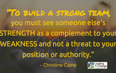 Don't fear their strengths