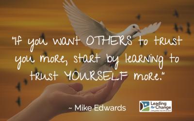 How do leaders create trust