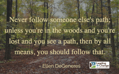 Who's leadership path are you on?