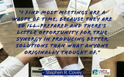Your meetings don't need to be a waste of time