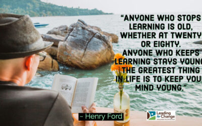 Make time for learning every day