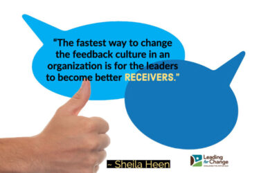 Feedback is a gift – don't waste it