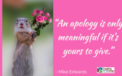 The impact of apologizing for someone else
