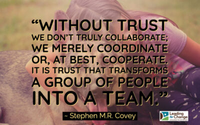 Is your team collaborating or cooperating?