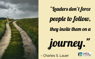 Leaders invite people to follow